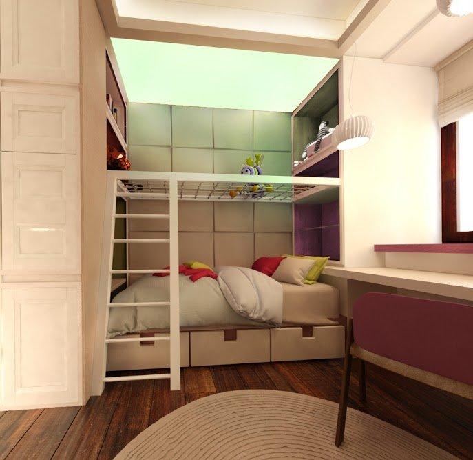 Фотография: Детская в стиле Современный, Квартира, Дома и квартиры, Проект недели, Москва – фото на INMYROOM
