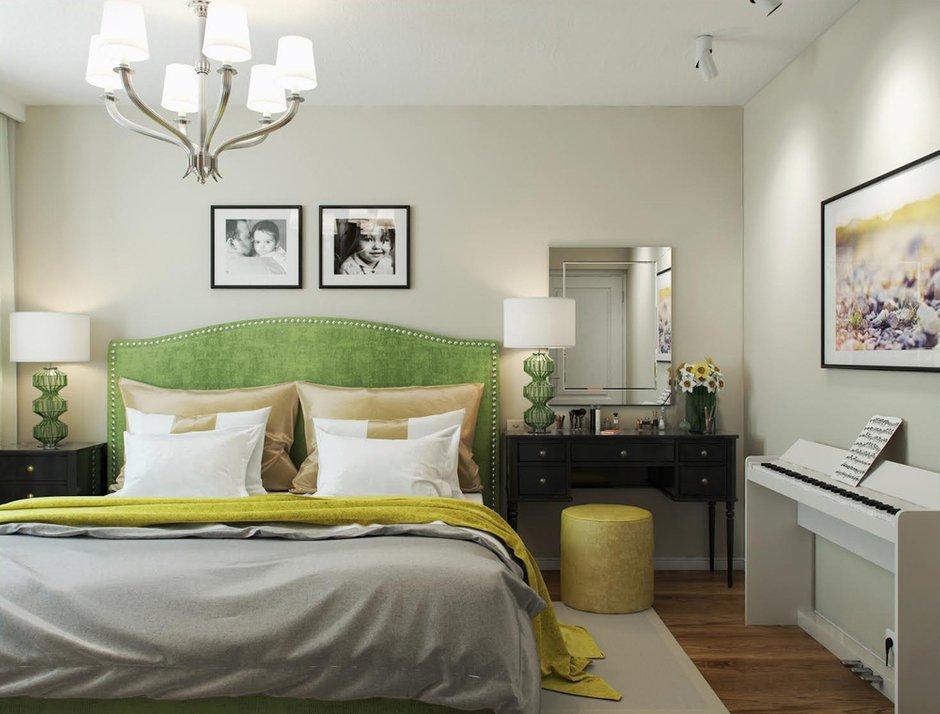 Фотография: Спальня в стиле Классический, Квартира, Проект недели, Москва, КОПЭ, Светлана Старцева – фото на INMYROOM