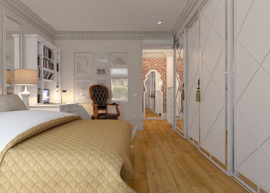 Фотография: Спальня в стиле Восточный, Лофт, Квартира, Дома и квартиры – фото на INMYROOM