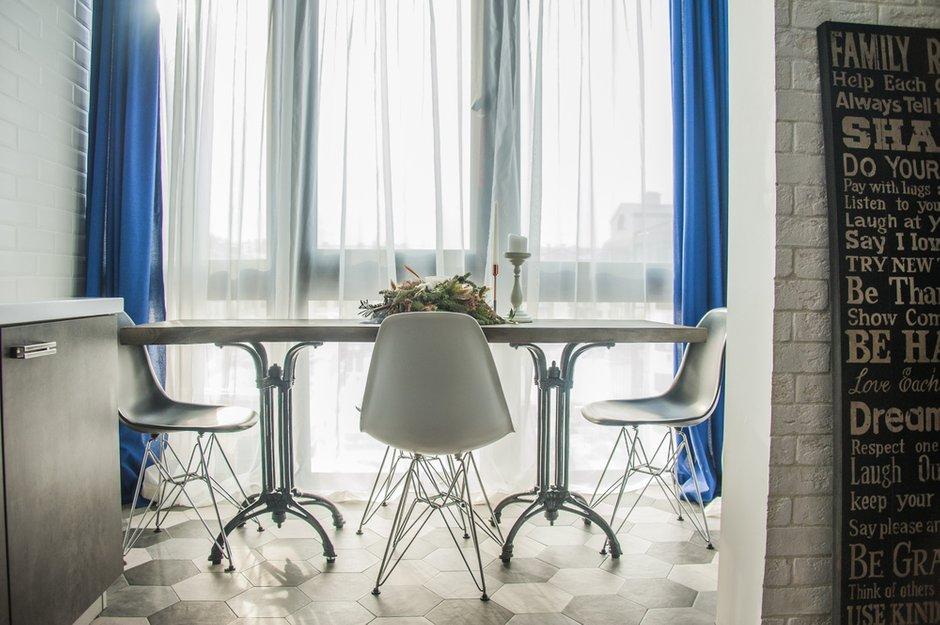 Фотография:  в стиле , Лофт, Квартира, Студия, Проект недели, Московская область, Камила Вагапова, новостройка, Монолитный дом, 40-60 метров – фото на INMYROOM