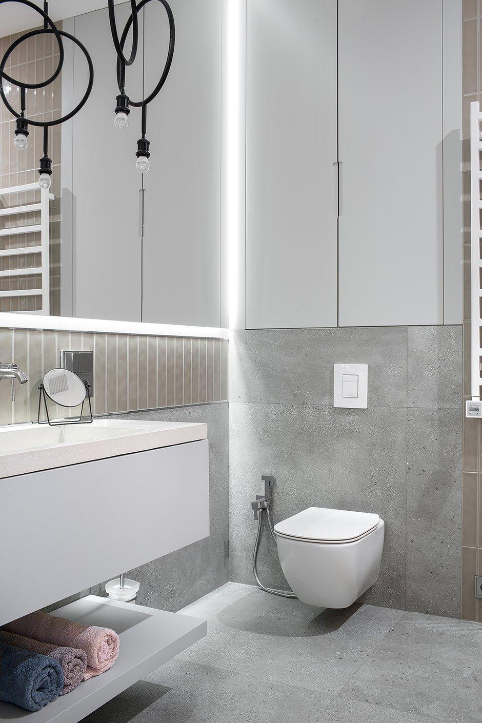 Фотография: Ванная в стиле Современный, Квартира, Проект недели, 3 комнаты, Более 90 метров, Владивосток, Miyao Studio – фото на INMYROOM