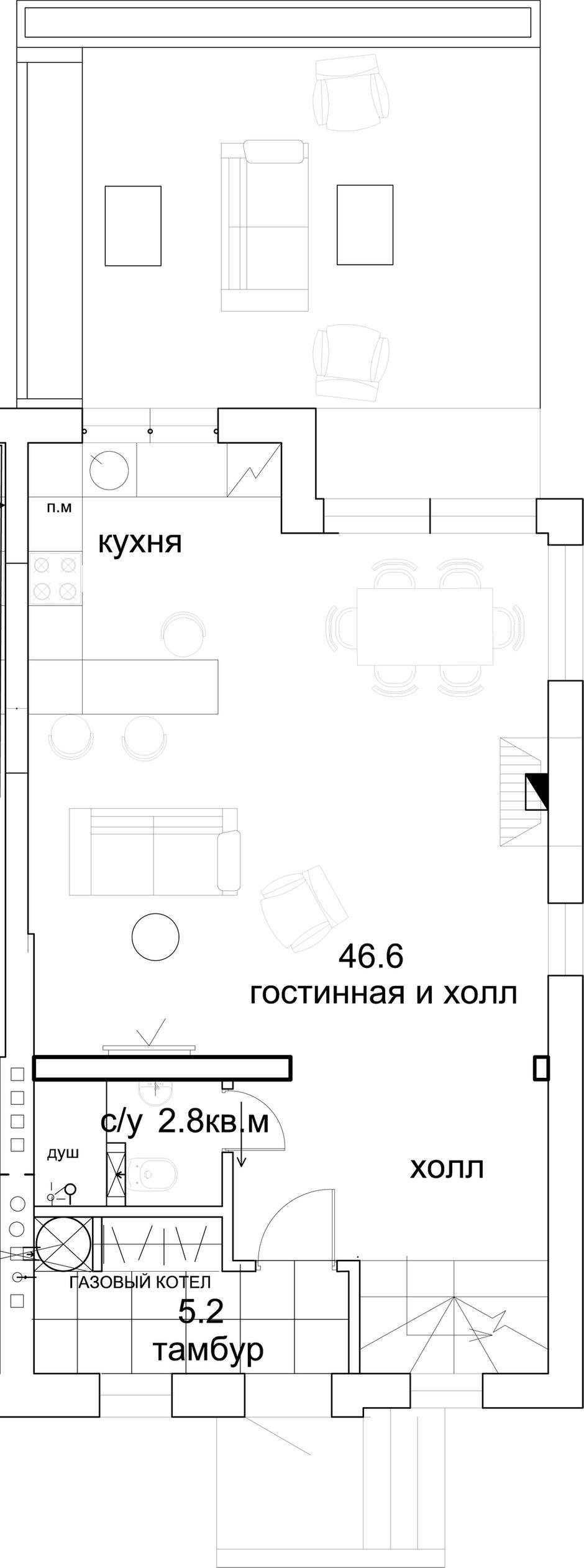 Фотография:  в стиле , Квартира, Проект недели, Подмосковье, Более 90 метров, Buro 19.23, Коттеджный поселок «Опушкино» – фото на INMYROOM