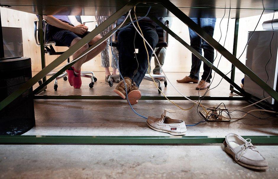 Фотография:  в стиле Современный, Офисное пространство, Офис, Дома и квартиры, Минимализм, Проект недели – фото на InMyRoom.ru