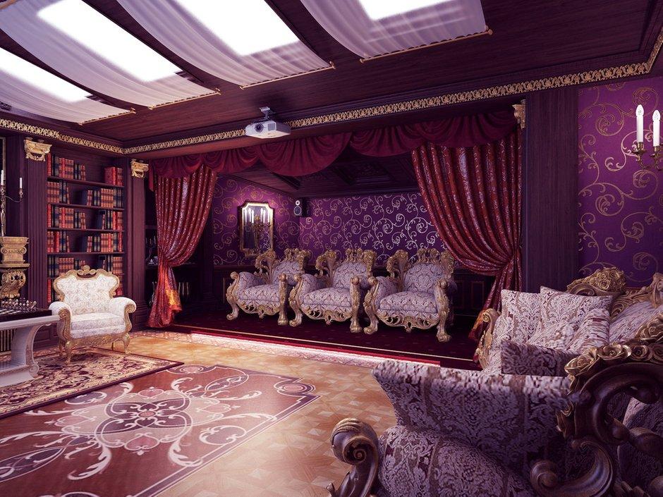 Фотография: Гостиная в стиле Классический, Современный, Квартира, Дома и квартиры – фото на INMYROOM