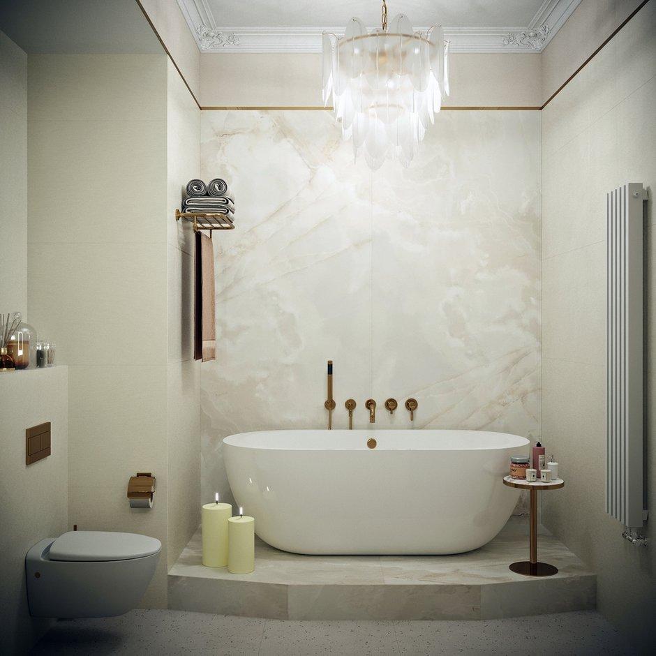 Ванна на подиуме незаменима в конце рабочей недели, когда хочется расслабиться и отдохнуть.