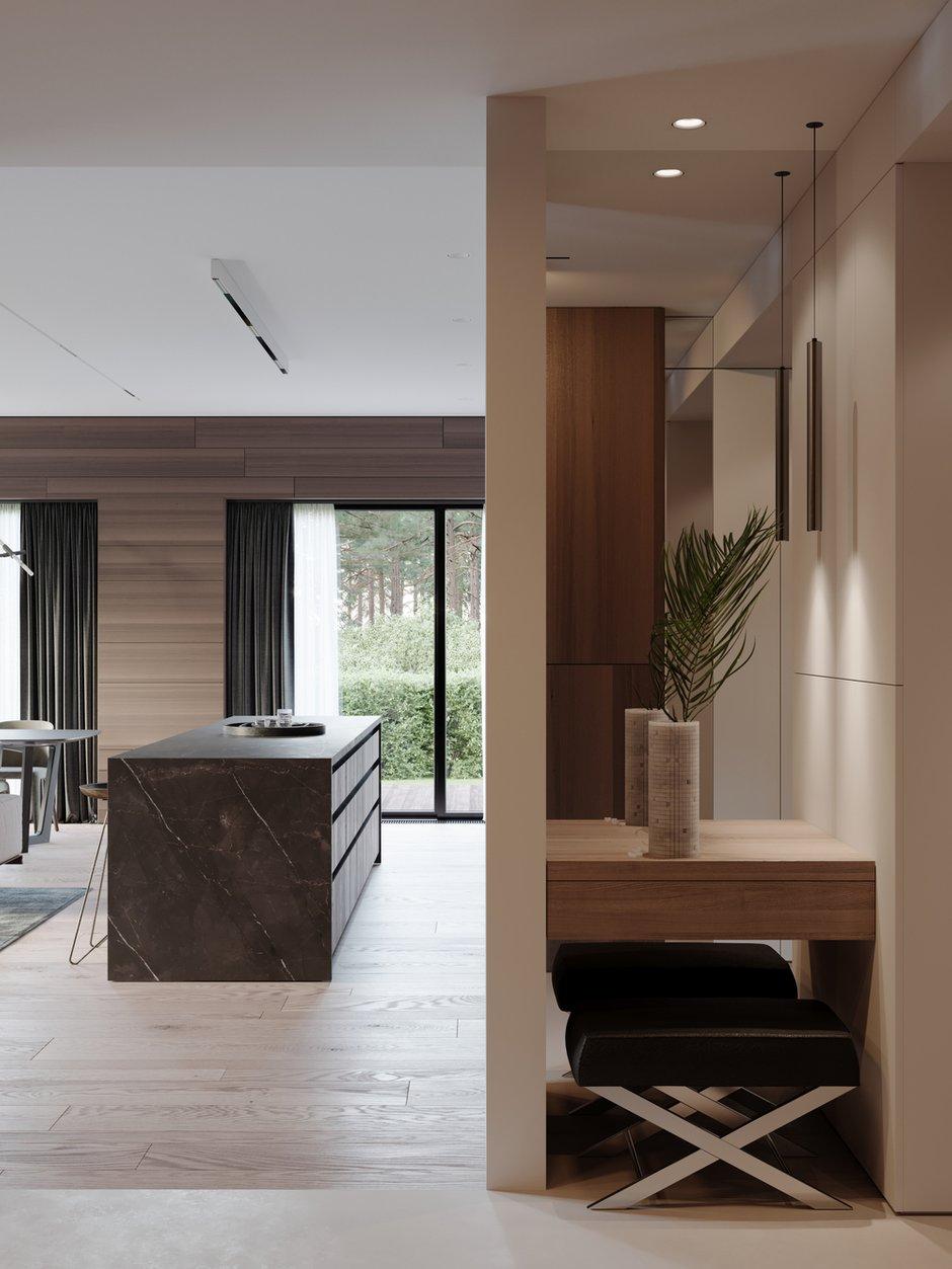 Фотография: Прихожая в стиле Минимализм, Квартира, Проект недели, 4 и больше, Более 90 метров, Ab-architects, Level Barvikha – фото на INMYROOM