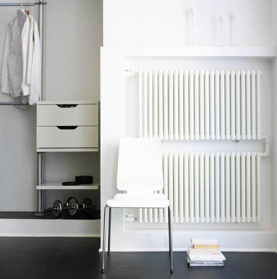 Фотография: Мебель и свет в стиле Лофт, Современный, Квартира, Цвет в интерьере, Дома и квартиры, Белый – фото на INMYROOM