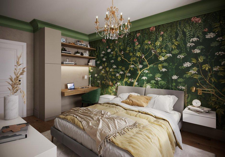 Фотография: Спальня в стиле Современный, Квартира, Проект недели, Санкт-Петербург, 3 комнаты, 60-90 метров, Yucubedesign, Юлия Бабинцева – фото на INMYROOM