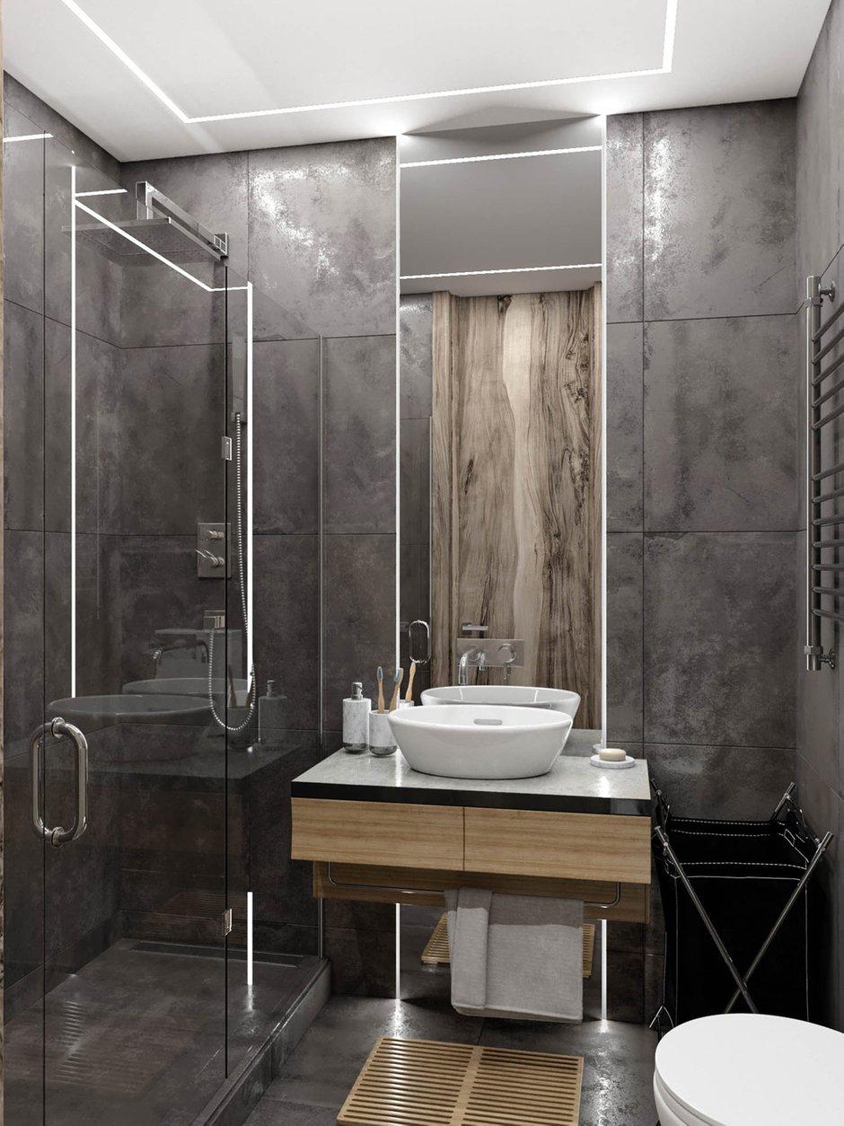 Фотография: Ванная в стиле Современный, Студия, Проект недели, Москва, до 40 метров, Konceptimo – фото на INMYROOM
