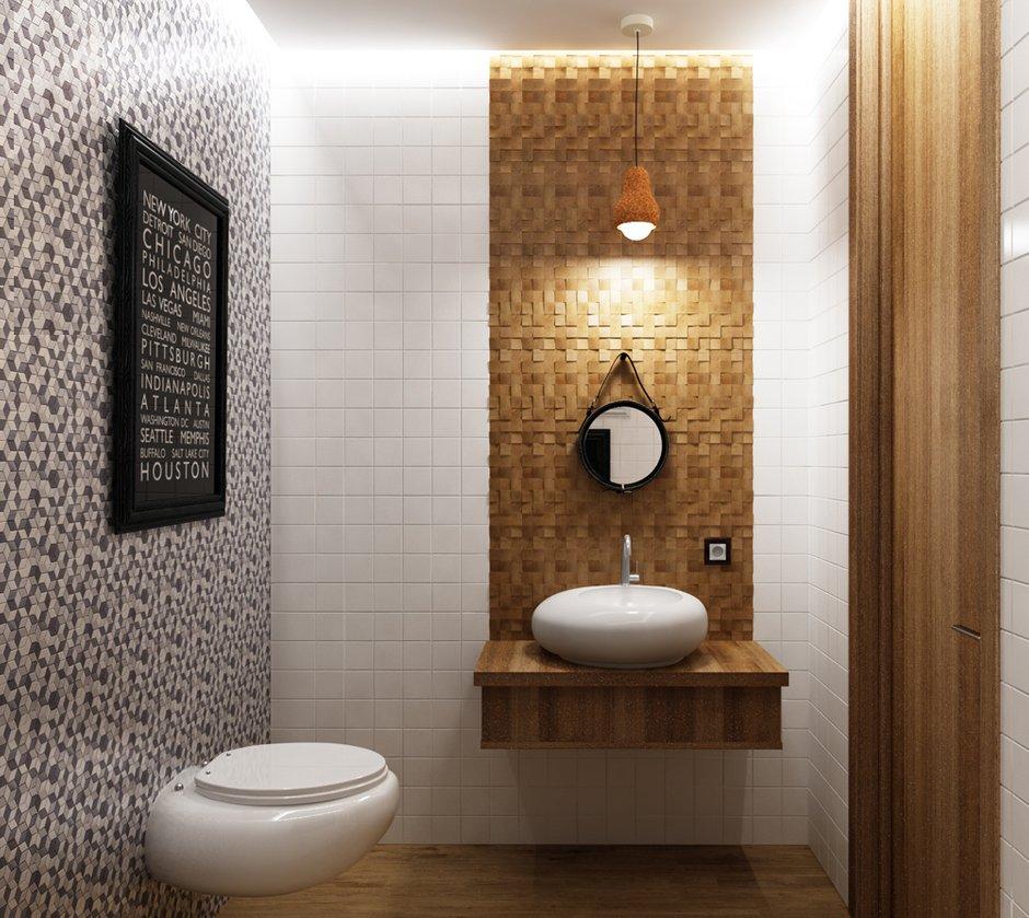 Фотография: Ванная в стиле Современный, Эко, Квартира, Проект недели – фото на INMYROOM