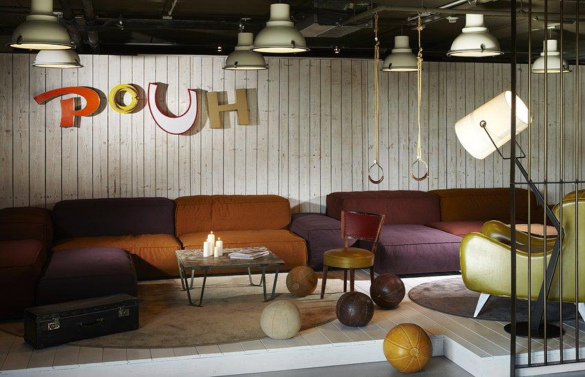 Фотография: Гостиная в стиле Лофт, Дома и квартиры, Городские места, Отель, Проект недели – фото на InMyRoom.ru