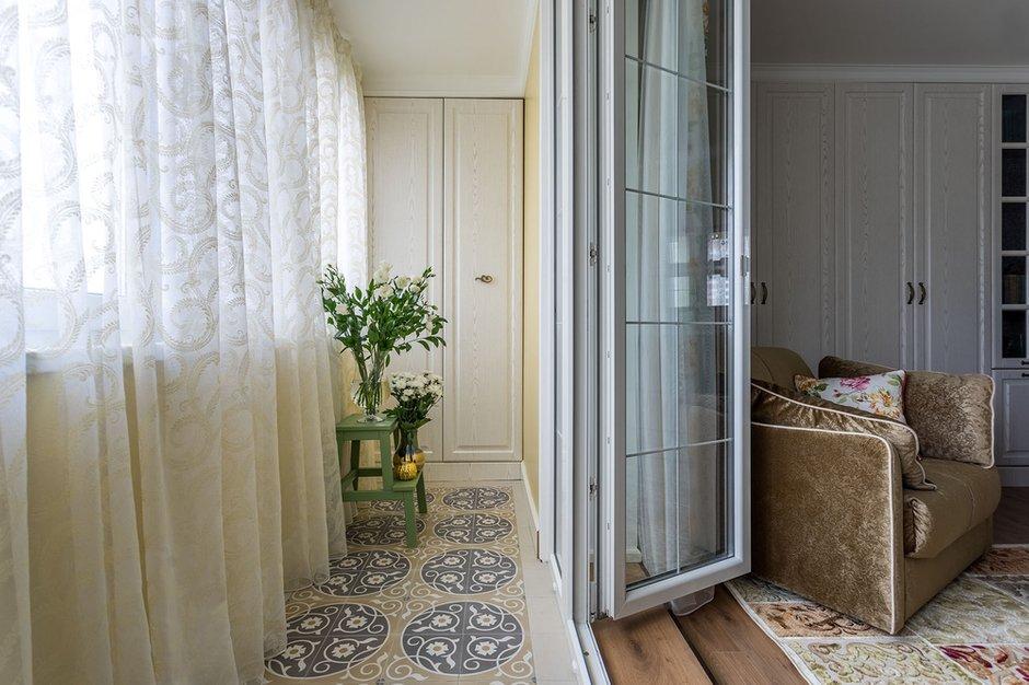 Фотография: Балкон в стиле Прованс и Кантри, Малогабаритная квартира, Квартира, Проект недели, Наталья Сытенкова – фото на INMYROOM