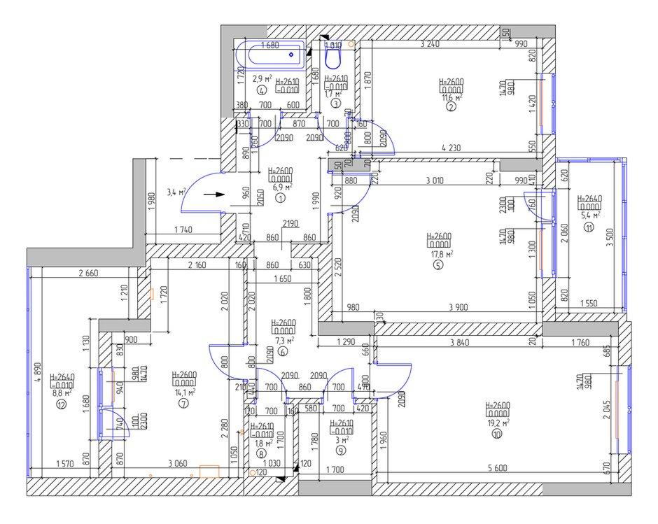 Фотография: Планировки в стиле , Эклектика, Квартира, Дома и квартиры, IKEA, Проект недели – фото на INMYROOM