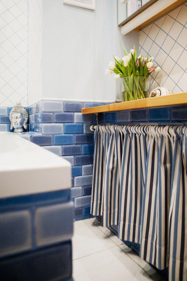 Фотография: Ванная в стиле Эклектика, DIY, Квартира, Дома и квартиры, IKEA – фото на INMYROOM