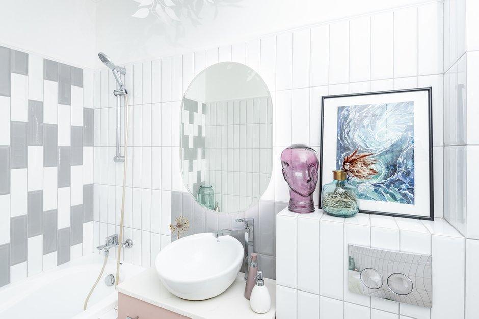 Фотография: Ванная в стиле Современный, Квартира, Проект недели, Челябинск, 1 комната, 40-60 метров, Денис Тарасенко – фото на INMYROOM