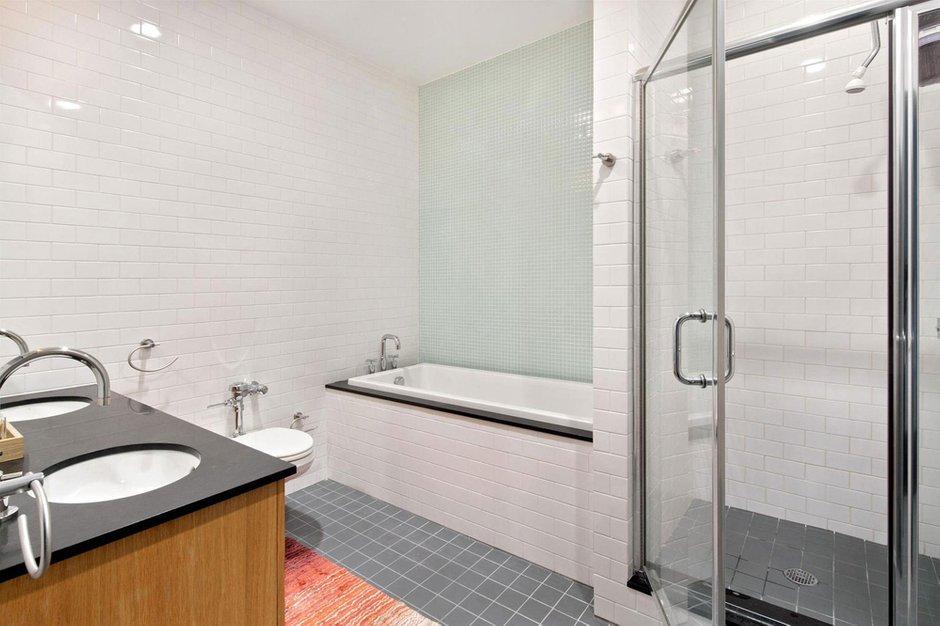 Фотография: Ванная в стиле Скандинавский, Современный, Квартира, Дома и квартиры – фото на INMYROOM