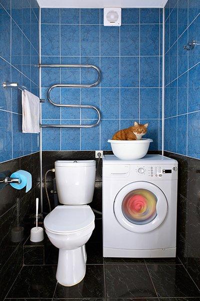 Фотография: Ванная в стиле , Декор интерьера, Квартира, Стиль жизни, Советы, Встраиваемая техника – фото на INMYROOM