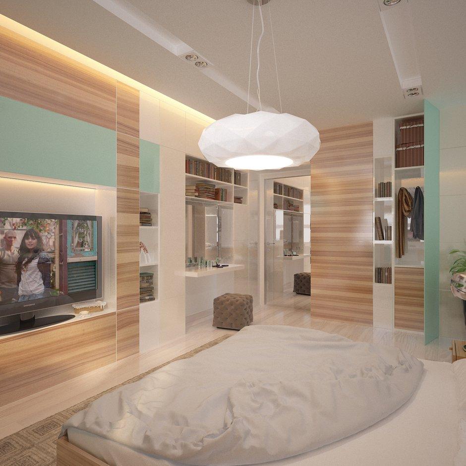 Фотография: Спальня в стиле Современный, Квартира, Проект недели – фото на INMYROOM
