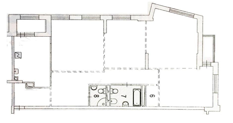Фотография:  в стиле , Современный, Квартира, Проект недели, Москва, Дарья Ельникова, 4 и больше, Более 90 метров – фото на INMYROOM