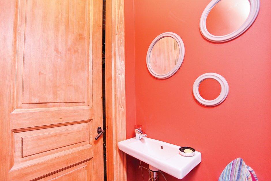Фотография: Ванная в стиле Современный, Лофт, Декор интерьера, Дом, Дома и квартиры, Стена – фото на INMYROOM