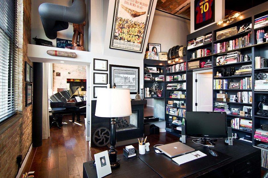 Фотография: Офис в стиле Лофт, Квартира, Дома и квартиры – фото на INMYROOM