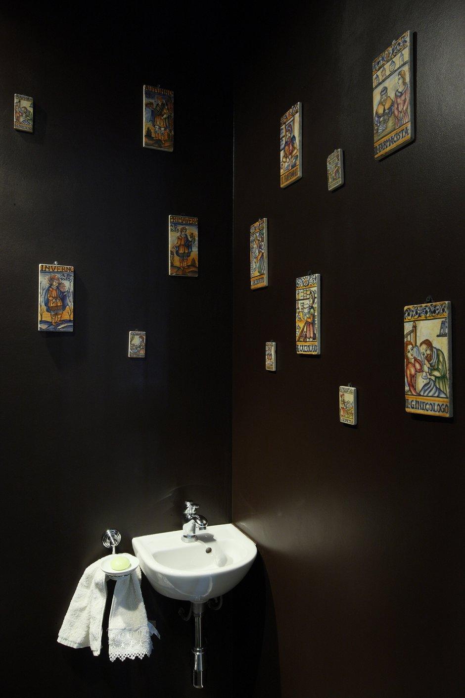 Фотография: Ванная в стиле Современный, Квартира, Мебель и свет, Цвет в интерьере, Дома и квартиры, Белый, Перепланировка, Москва, Екатерина Блохина – фото на INMYROOM