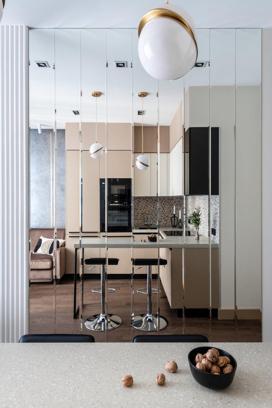 Фотография: Кухня и столовая в стиле Современный, Квартира, Проект недели, Москва, 3 комнаты, 60-90 метров, Карина Римик – фото на INMYROOM