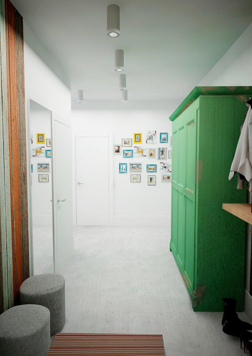 Фотография: Прихожая в стиле Лофт, Скандинавский, Квартира, Дома и квартиры, IKEA, Проект недели – фото на INMYROOM