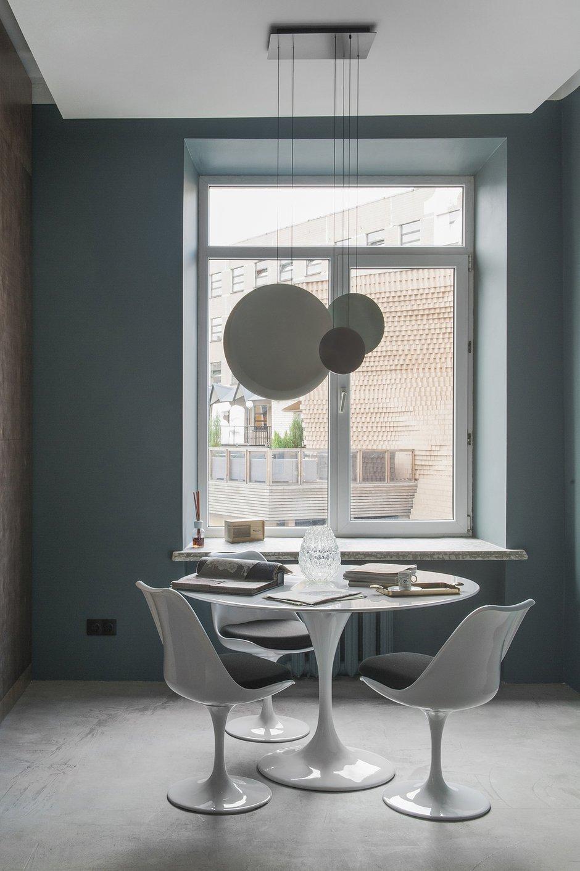 Фотография: Кухня и столовая в стиле Современный, Лофт, Офисное пространство, Офис, Проект недели, Москва, Валерия Дзюба, Nido Interiors – фото на INMYROOM