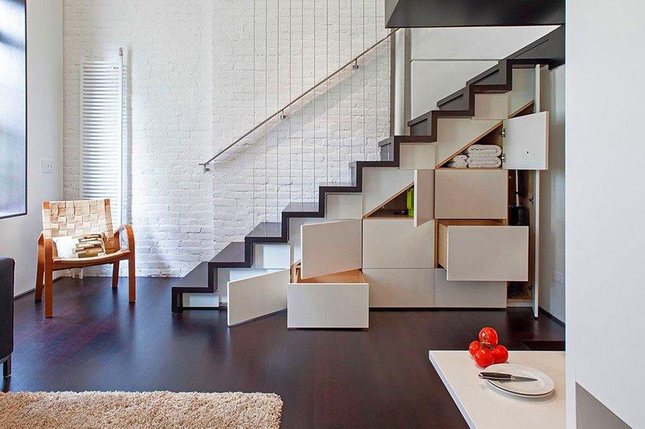 Фотография:  в стиле Современный, Квартира, Дома и квартиры, Перепланировка – фото на INMYROOM