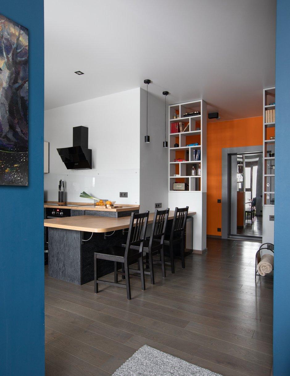 Фотография: Кухня и столовая в стиле Современный, Квартира, Студия, Проект недели, Москва, 40-60 метров, Анна Никитина – фото на INMYROOM
