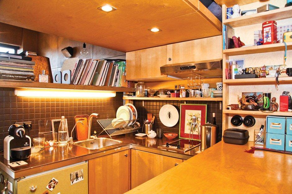 Фотография: Кухня и столовая в стиле , Малогабаритная квартира, Квартира, Дома и квартиры, Квартиры – фото на InMyRoom.ru