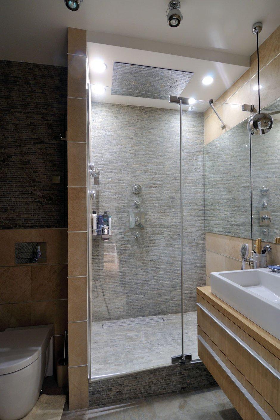 Фотография: Ванная в стиле Лофт, Квартира, Дома и квартиры, Проект недели – фото на InMyRoom.ru