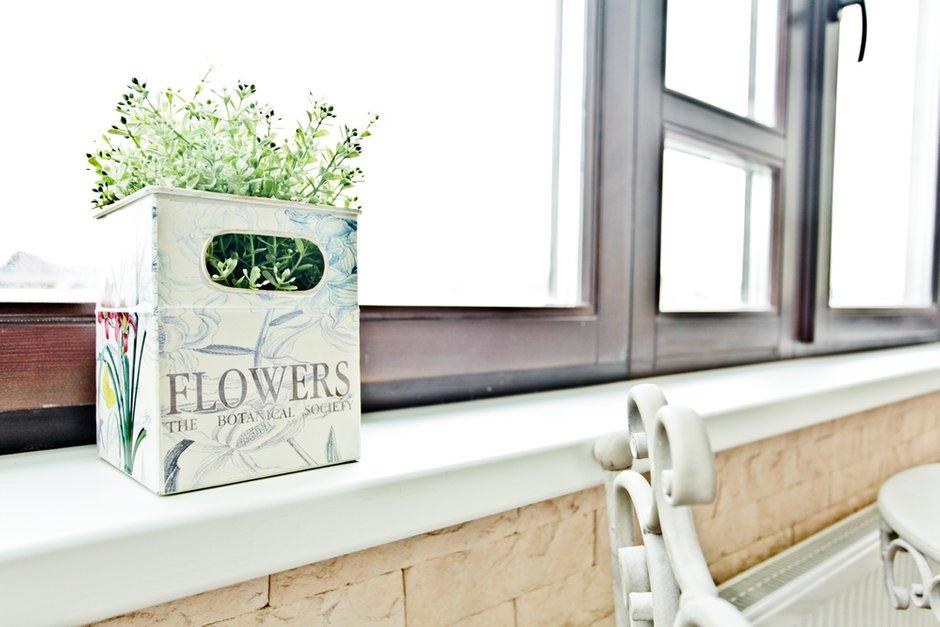 Фотография: Флористика в стиле , Квартира, Цвет в интерьере, Дома и квартиры – фото на INMYROOM