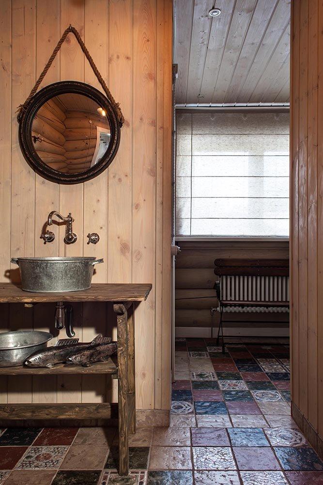 Фотография: Ванная в стиле Прованс и Кантри, Дом, Дома и квартиры, Проект недели, Эко – фото на INMYROOM