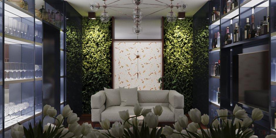 Фотография: Гостиная в стиле Лофт, Минимализм, Квартира, Проект недели – фото на INMYROOM