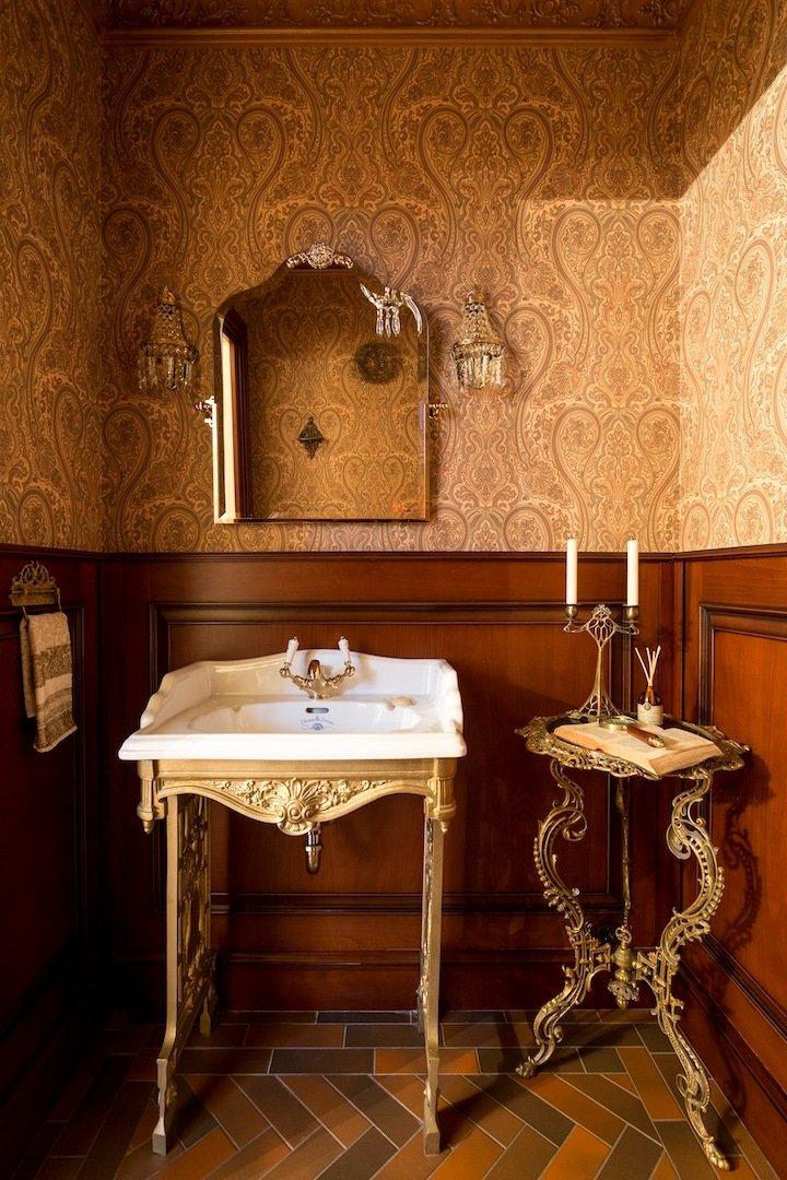 Фотография: Ванная в стиле Прованс и Кантри, Дом, Дома и квартиры – фото на INMYROOM