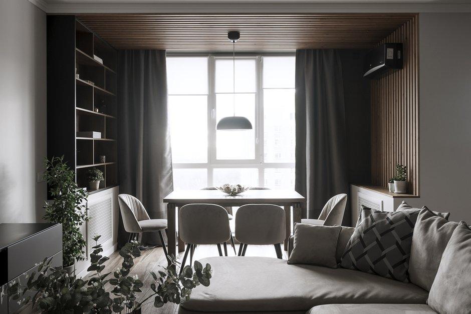 Фотография: Кухня и столовая в стиле Современный, Квартира, Минимализм, Проект недели, Пенза, 3 комнаты, Более 90 метров, Юлия Власова – фото на INMYROOM