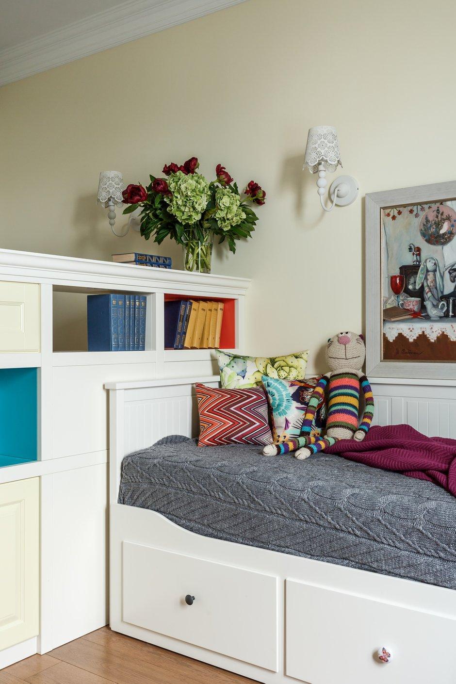 Фотография: Детская в стиле Прованс и Кантри, Квартира, Проект недели, Москва, NW-Interior, Монолитный дом, 4 и больше, Более 90 метров – фото на INMYROOM