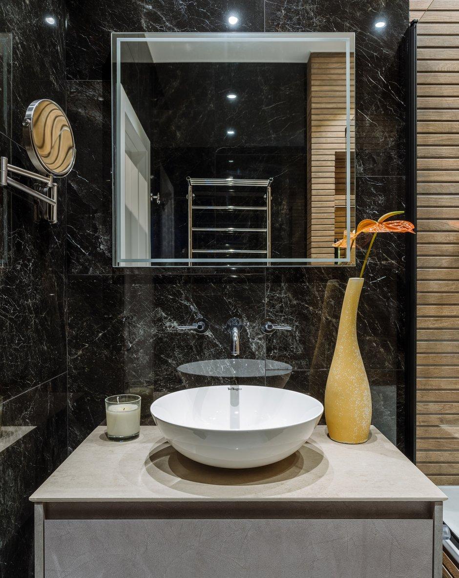 Фотография: Ванная в стиле Современный, Квартира, Проект недели, 2 комнаты, 60-90 метров, Люберцы, Евгения Пестова – фото на INMYROOM