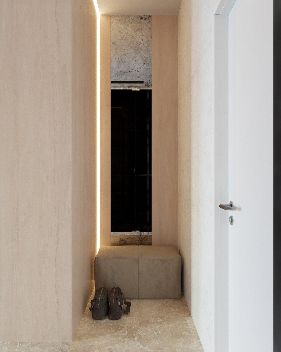 Фотография: Прихожая в стиле Современный, Квартира, Студия, Минимализм, Проект недели, Монолитный дом, 40-60 метров, Батуми, Грузия, VAE design & architecture – фото на INMYROOM