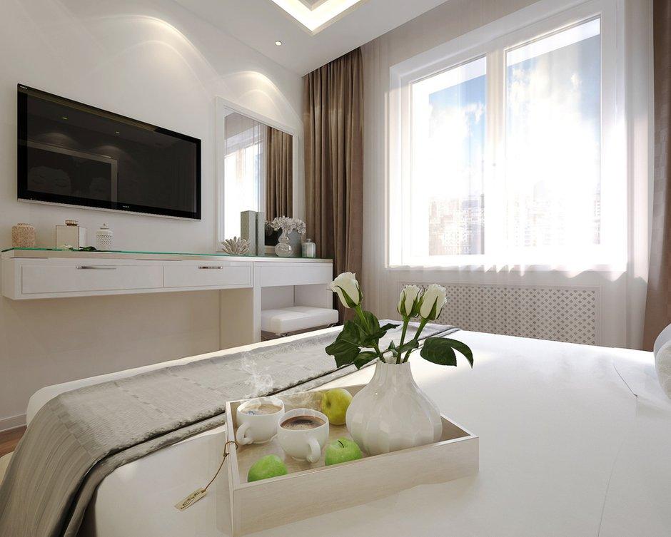 Фотография: Спальня в стиле Современный, Квартира, Дома и квартиры, IKEA, Проект недели, Москва – фото на INMYROOM