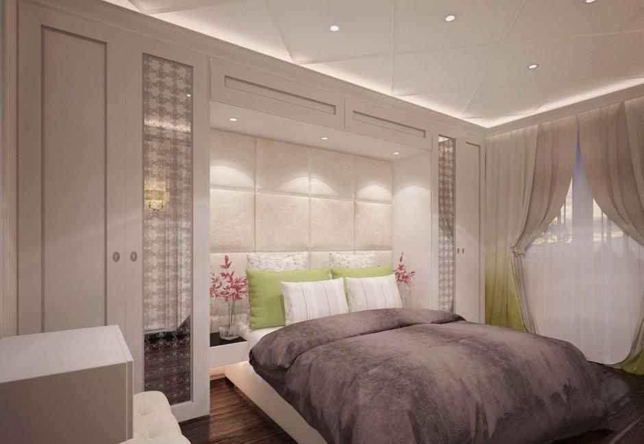 Фотография: Спальня в стиле Современный, Классический, Эклектика, Квартира, Проект недели – фото на INMYROOM