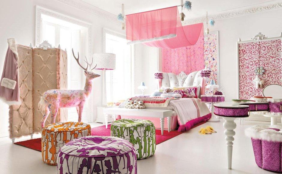 Фотография: Детская в стиле Современный, Эклектика, Спальня, Декор интерьера, Интерьер комнат – фото на INMYROOM