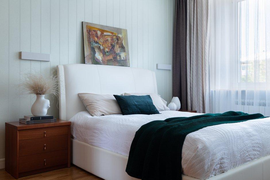 Фотография: Спальня в стиле Современный, Квартира, Проект недели, Самара, Кирпичный дом, 4 и больше, Более 90 метров, Lumus Design, Любовь Пивоварова – фото на INMYROOM