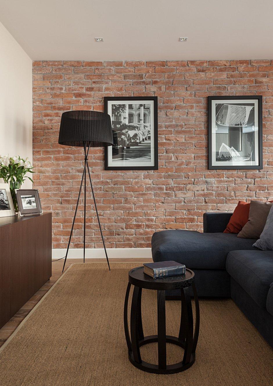 Фотография: Гостиная в стиле Современный, Эклектика, Классический, Квартира, Дома и квартиры, IKEA, Проект недели, Дина Салахова – фото на INMYROOM