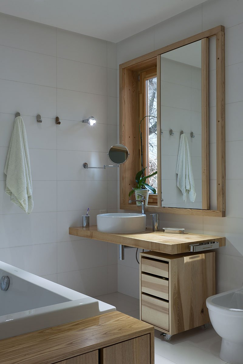 Фотография: Ванная в стиле Современный, Дом, Дома и квартиры, Проект недели, Эко – фото на INMYROOM