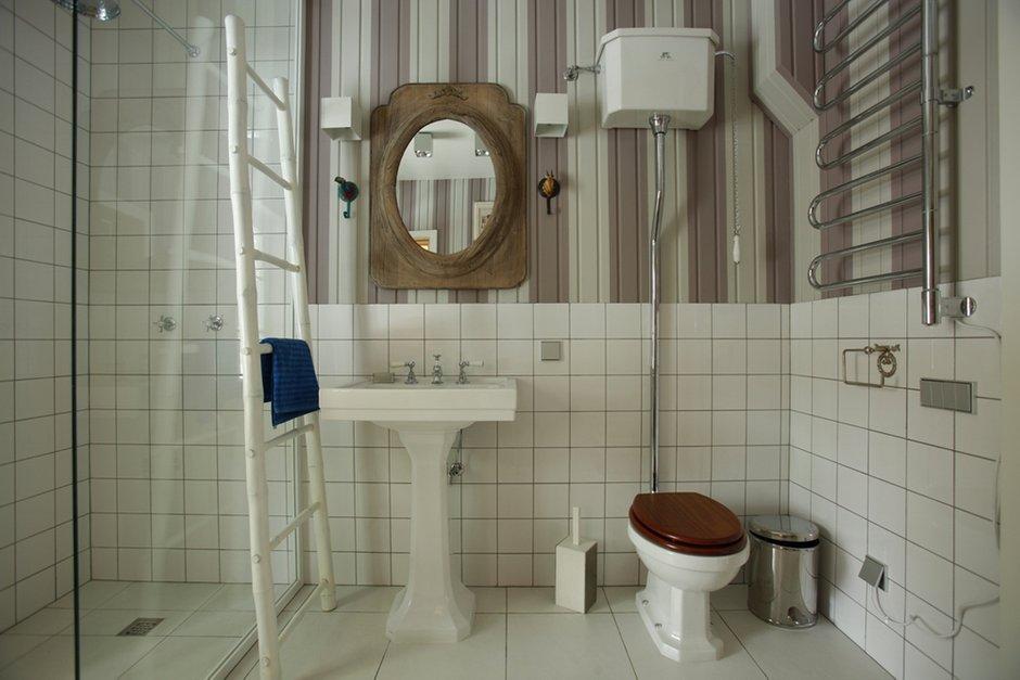 Фотография: Ванная в стиле Классический, Интерьер комнат, Цвет в интерьере, Белый, Проект недели – фото на INMYROOM