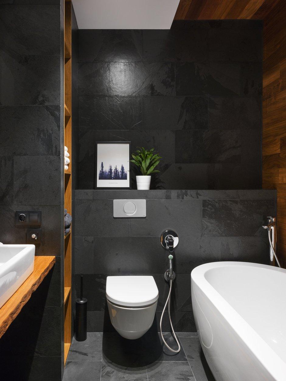 Фотография: Ванная в стиле Лофт, Современный, Квартира, Проект недели, Geometrium, Монолитный дом, 2 комнаты, 60-90 метров, ЖК «Сколковский» – фото на INMYROOM