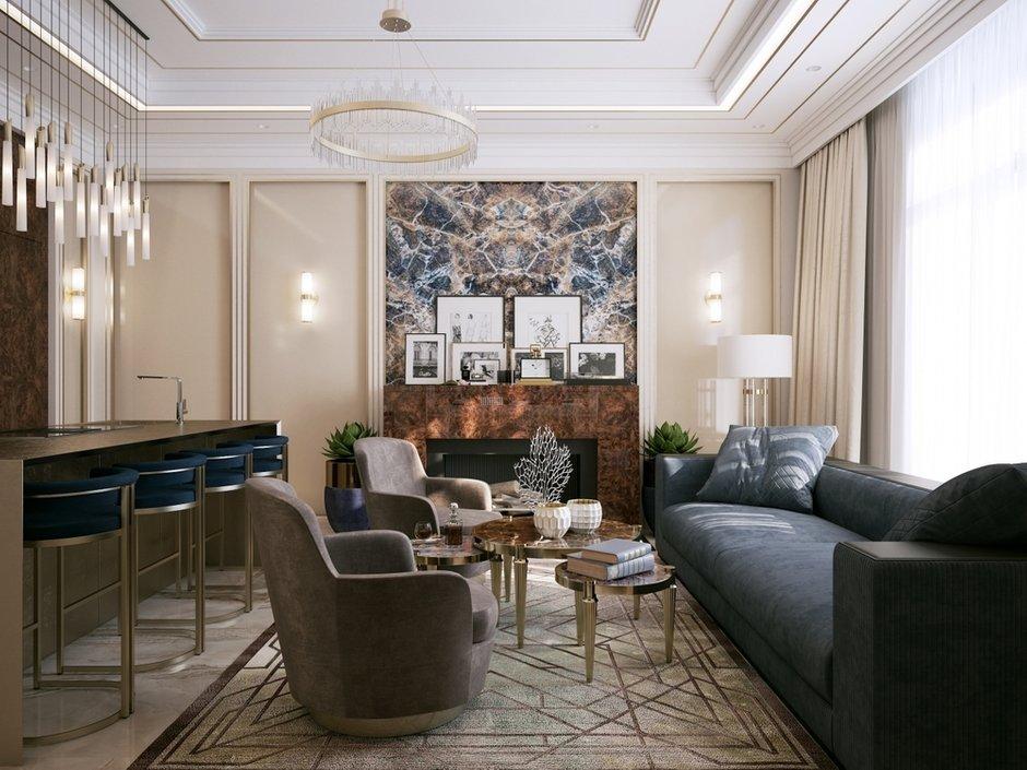 Фотография: Гостиная в стиле Классический, Современный, Декор интерьера, Гранд, Анастасия Шарапова, Гранд Юг – фото на INMYROOM